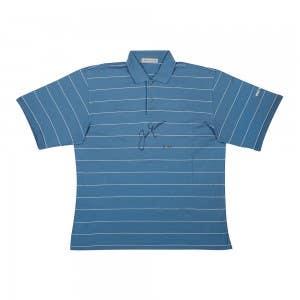 Jack Nicklaus Tournament-Worn Polo Blue
