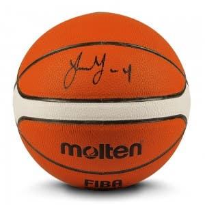 Jalen Green Autographed Molten Basketball