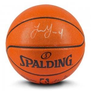 Jalen Green Autographed Indoor/Outdoor Spalding Basketball