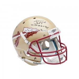 Jameis Winston Autographed FSU Full Replica Helmet Inscribed