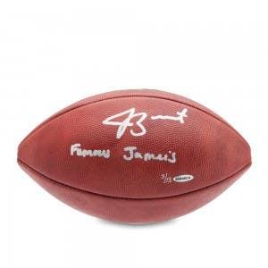 Jameis Winston Autographed & Inscribed NFL Duke Football