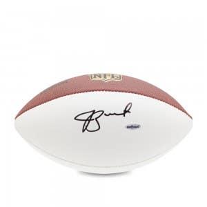 Jameis Winston Autographed Wilson White Panel Football