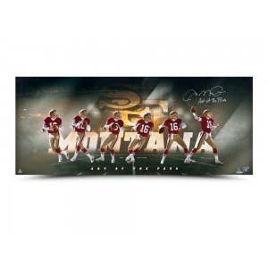 "Joe Montana Autographed ""Art of the Pass"""