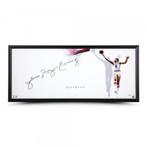 """Julius Erving Autographed The Show """"Smooth"""""""
