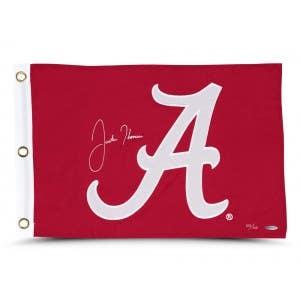 Justin Thomas Autographed University of Alabama Pin Flag
