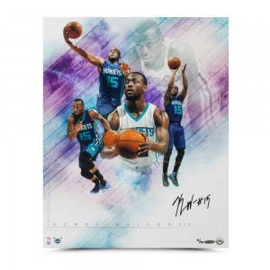 Kemba Walker Autographed Buzz Collage Photo