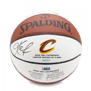 Kevin Love Autographed Spalding 2016 Cavaliers Championship Basketball