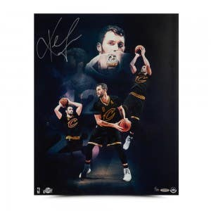 "Kevin Love Autographed ""Ring Night"" 16 x 20"