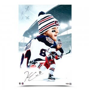 """Kyle Connor Autographed """"Heritage Classic"""" 16 x 24"""