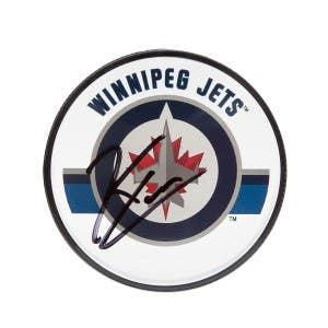 Kyle Connor Autographed Winnipeg Jets Acrylic Puck