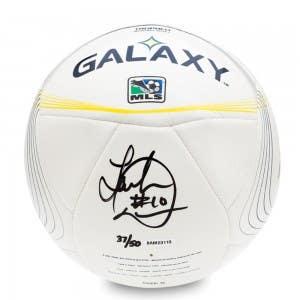 Landon Donovan Autographed L.A. Galaxy Adidas Tropheo Replica Match Ball