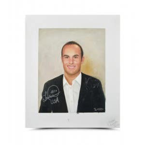 Landon Donovan Autographed Goodwin Portrait Original Card Art