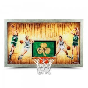 "Larry Bird Autographed ""Larry Legend"" Backboard"