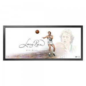 "Larry Bird Autographed The Show ""The Legend"""