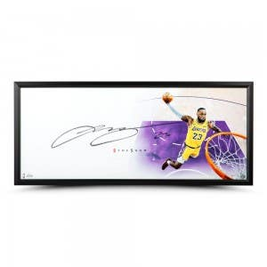 """LeBron James Autographed The Show """"Lakers"""""""
