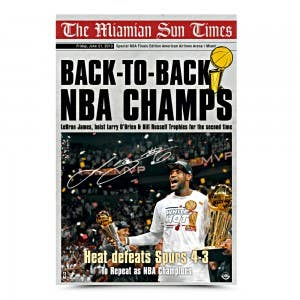 LeBron James Miami Sun Times