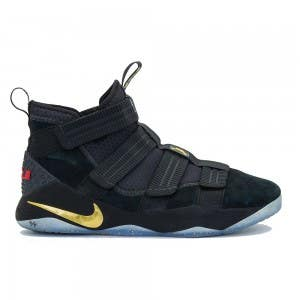 "LeBron James Game Worn ""LeBron Zoom Soldier 11"" Shoe (Vs. Golden State Warriors)"