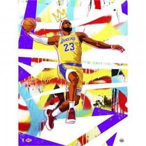 """LeBron James """"Hoop Dreams"""" Print"""