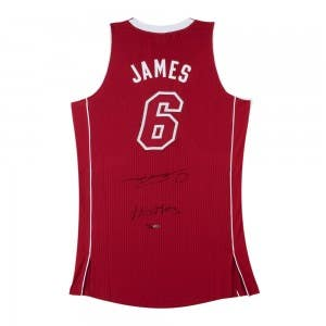 LeBron James Signed & Inscribed Miami Heat Pride Jersey