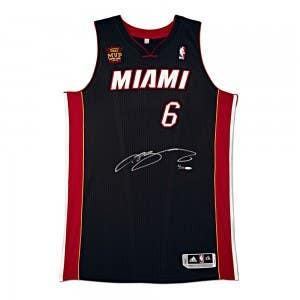 Signed LeBron James Jersey