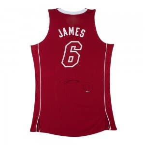 LeBron James Signed Miami Heat Pride Jersey