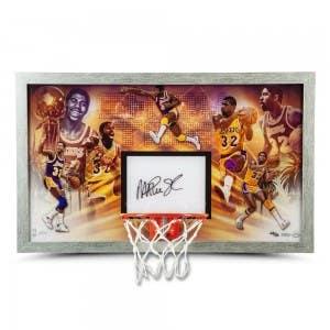 "Magic Johnson Autographed ""Champion"" Backboard"