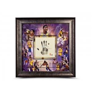 Magic Johnson LA Lakers Tegata