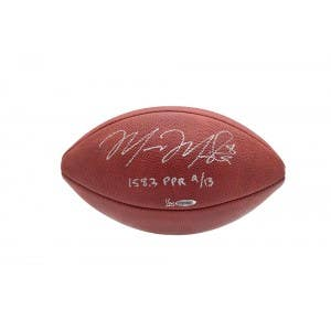Marcus Mariota Autographed & Inscribed Authentic Wilson Football