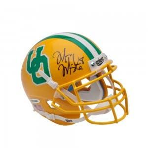 Marcus Mariota Signed University of Oregon Yellow Schutt Mini Helmet