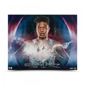 """Markelle Fultz Autographed """"Ready-Made"""" 20 x 16"""