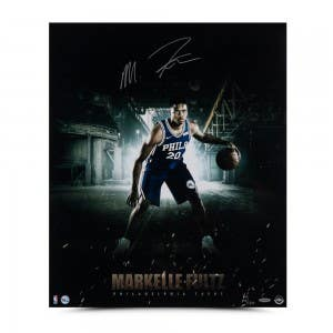 "Markelle Fultz Autographed ""Work Ethic"" 20 x 24"