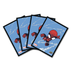 Fanned   Marvel Thwip Sleeves (65 Count)