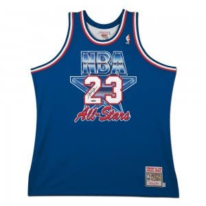 Michael Jordan Autographed 1993 All-star Game Authentic Mitchell & Ness Jersey