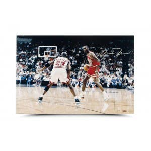 "Michael Jordan Autographed ""Driven From Within"" Photo"