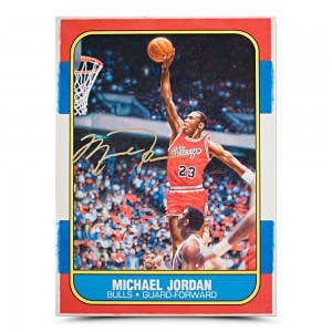 Michael Jordan Rookie Card Original Art