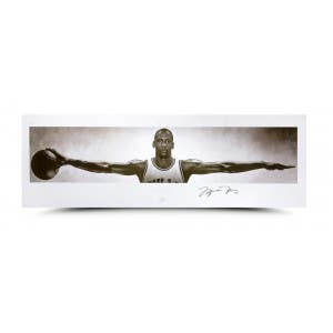 Michael Jordan Wings Print