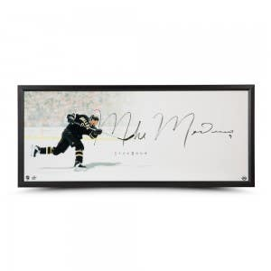 """Mike Modano Autographed """"The Show"""" Display"""