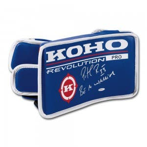 Patrick Roy Autographed & Inscribed Authentic KOHO Revolution Goalie Blocker
