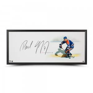 """Paul Coffey Autographed """"The Show"""" Display"""