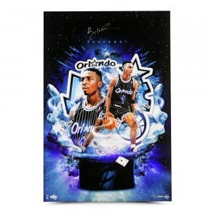 "Penny Hardaway Autographed ""Magician"" 20 x 30"