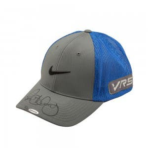 Rory McIlroy Autographed Grey and Cobalt Blue Nike Hat
