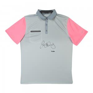 Rory McIlroy Autographed Grey