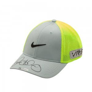 Rory McIlroy Autographed Grey and Volt Nike Hat