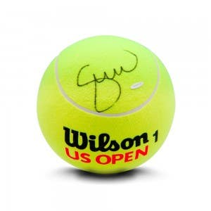 Serena Williams Autographed Jumbo Wilson Tennis Ball