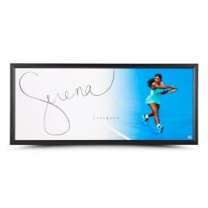 "Serena Williams Autographed The Show ""Backhand"""