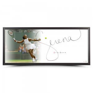 "Serena Williams Autographed The Show ""Forehand"""
