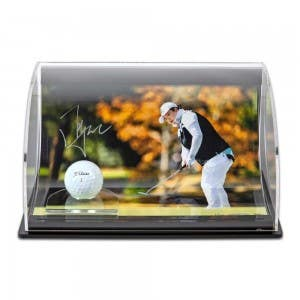 "Shanshan Feng Autographed ""Jenny Money"" 8 X 10 Image With Titleist Pro V1x Golf Ball"