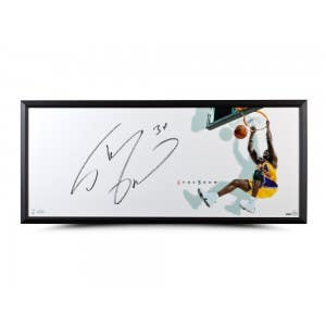 "Shaquille O'Neal Autographed ""The Show"" 46x20 Framed"