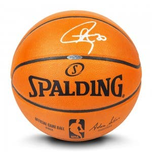 Stephen Curry Autographed Authentic Spalding Basketball
