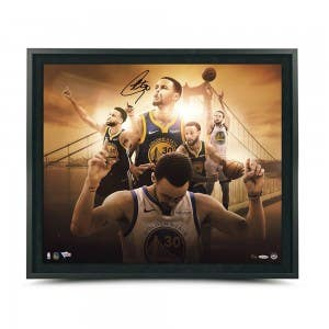 "Stephen Curry Autographed ""Golden State"" 24x20 Framed"
